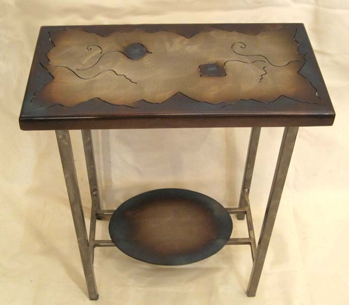 """View of """"End Table Item # ET-1"""""""